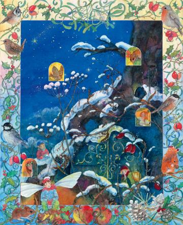 Adventskalender »Weihnachten im Elfenland«  Daniela Drescher