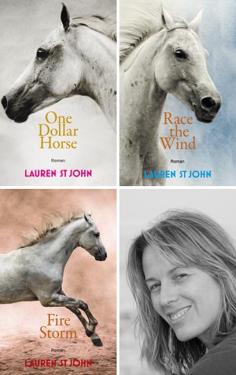 One Dollar Horse – Aktionspaket mit 3 Bänden  Lauren St John