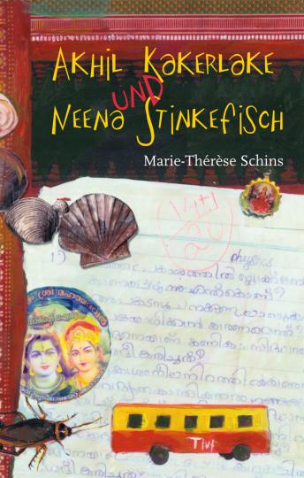Akhil Kakerlake und Neena Stinkefisch  Marie-Thérèse Schins    Marie-Thérèse Schins