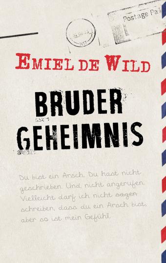 Brudergeheimnis  Emiel de Wild