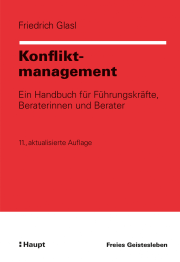 Konfliktmanagement  Friedrich Glasl