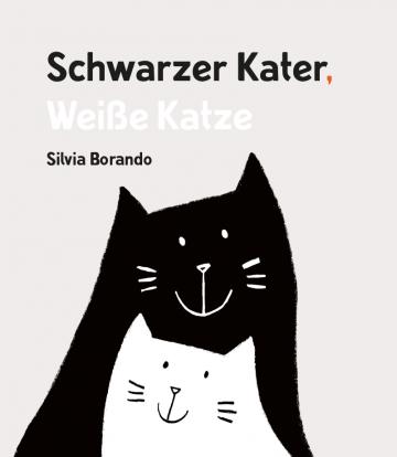 Schwarzer Kater, Weiße Katze  Silvia Borando