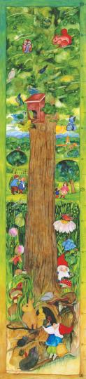 Messlatte Lebensbaum  Eva-Maria Ott-Heidmann
