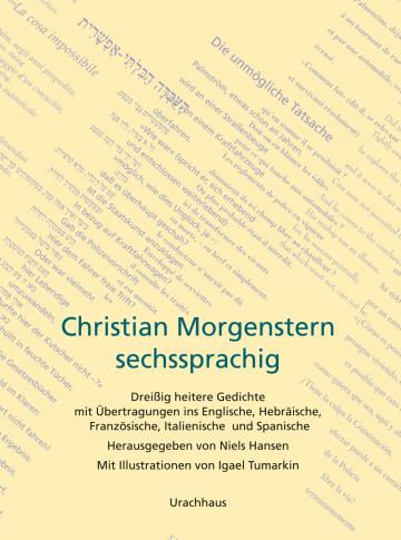 Christian Morgenstern sechssprachig  Niels Hansen Igael Tumarkin