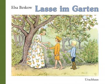 Lasse im Garten Elsa Beskow