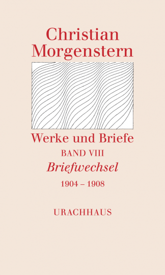 Band 8: Briefwechsel 1904–1908 Christian Morgenstern Katharina Breitner, Reinhardt Habel